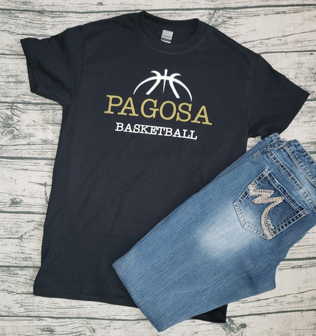 PIRATE GIRLS BASKETBALL TEE - SHORT SLEEVE