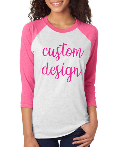 Breast Cancer Raglan - Adult Apparel - Design Set 1