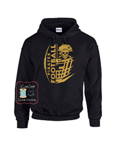 *** PIRATE FOOTBALL - SWEATSHIRT
