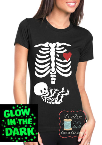 Adult Shirt - Skeleton Baby