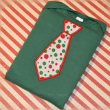 Holiday Tie Onesie/Shirt