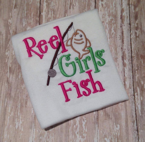 Reel Girls Fish Onesie/Shirt (Short Sleeve)