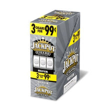 Load image into Gallery viewer, Jackpot Cigars - Blunt Wrap Cigar Cigarillos Silver For Sale