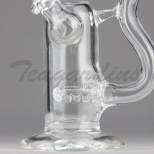 "Load image into Gallery viewer, Teagardins Glass - D.I. Bubbler - Inline Percolator Diffuser Dab Rig - 5mm Thickness / 6"" Height"