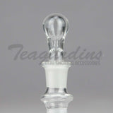 18mm Glass Plug for Cleaning Water Pipes Bubblers