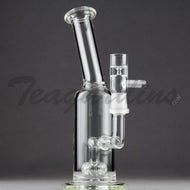 Teagardins Glass -  Fixed Showerhead Percolator Stemless Dab Rig - 5mm Thickness / 8