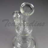 Teagardin's Glass Water Pipe Cheap for Sale Vortex Percolator