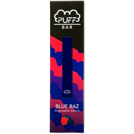 Puff - Bar Vape Disposable Blue Razz 50mg For Sale