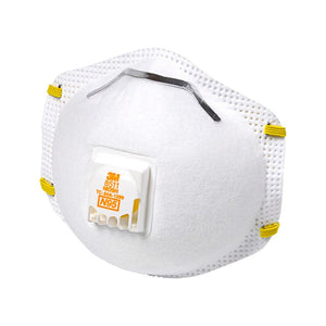 3M - N95 Paint Sanding Valved Respirators Masks 8210 Plus