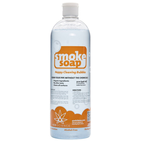 420 Science - Water Pipe Cleaning Solution - Smoke Soap - 8oz
