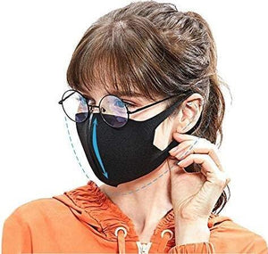 TGR - Mask Black Anti Dust Unisex Reusable