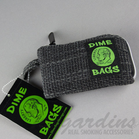 "5"" Dime Bag- Padded Pipe Pouch Black"