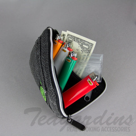 "7"" Dime Bag- Padded Pipe Pouch Black"