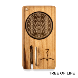 Magic Flight - Dry Herb Vaporizer Launch Box Laser Etched Lid Tree of Life for sale