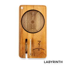 Load image into Gallery viewer, Magic Flight - Dry Herb Vaporizer Launch Box Laser Etched Lid Labyrinth for sale