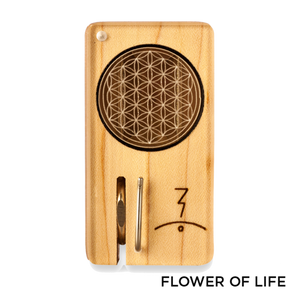 Magic Flight - Dry Herb Vaporizer Launch Box Laser Etched Lid Flower of Life for sale