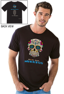 Gonesh -  T-Shirt Day of the Dead Black for sale