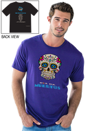 Gonesh -  T-Shirt Day of the Dead Cobalt for sale
