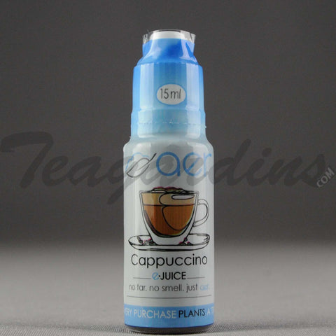 AER- Cappuccino E-Liquid Juice 15ml