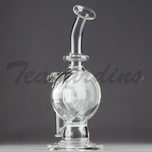 Load image into Gallery viewer, Teagardin's Glass - Bubbler With Disc and HD Percolator