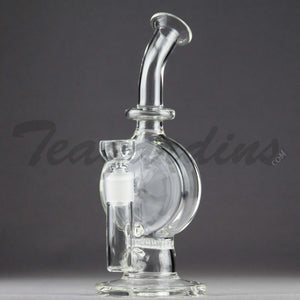 Teagardin's Glass - Bubbler With Disc and HD Percolator