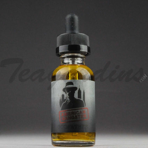 American Gangster E-Juice - Godfather Flavor (Coffee, Roasted Chestnuts & Whipped Cream)