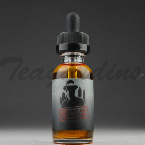 American Gangster E-Juice - Superfly Flavor (Kiwi Strawberry,Vanilla Custard)