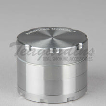 Load image into Gallery viewer, American Herb Grinder Silver