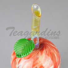 Load image into Gallery viewer, Glass Apple Hand Pipe
