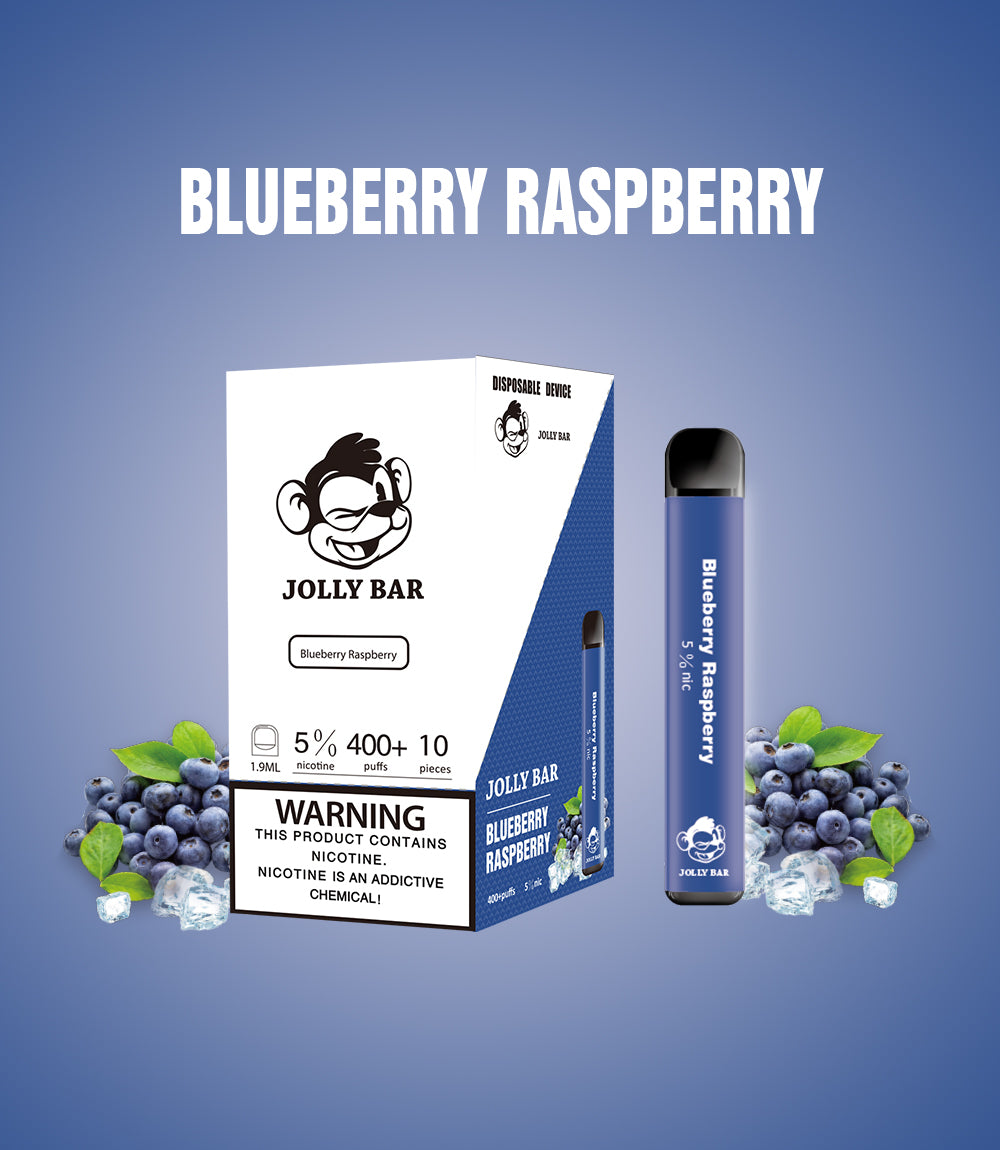 Jolly Bar - Pod Disposable Device Blueberry Raspberry