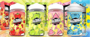 Bazooka E-Liquid - Sour Straws - Strawberry