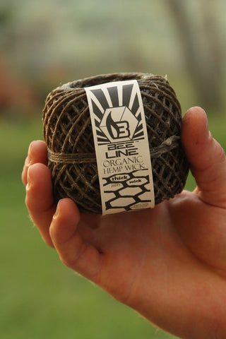 Bee Line - Organic Hemp Wick (Large) 200ft.