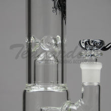 Load image into Gallery viewer, Pure Glass-Double Chamber 8 Arm Tree Perculator Scientific Pipes Water Bongs