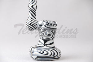 Worked Sherlock Bubbler Sherlock Pipe for Sale