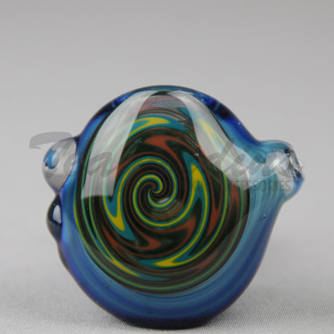 Teagardins - Glass Briar Pipe With Reversal on Head