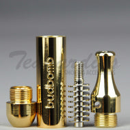 Budbomb Forced Venturi Metal Hand Pipe Gold