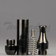 Budbomb Forced Venturi Metal Pipe Gunmetal Awesome