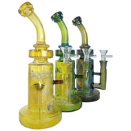 On Point Glass - Water Pipe Fumed Color Matrix 9.5