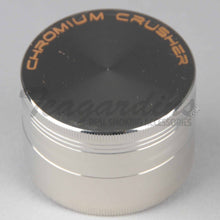 Load image into Gallery viewer, Chromium Crusher Herb Grinder Silver