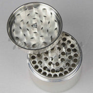 Chromium Crusher Herb Grinder Silver