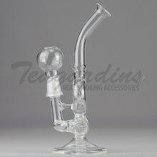 Load image into Gallery viewer, Clear Inline D.I. Mini Tube Oil Rigs