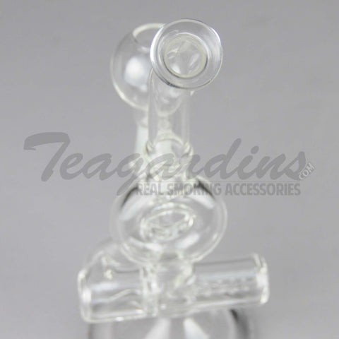 Clear Inline D.I. Mini Tube With Donut