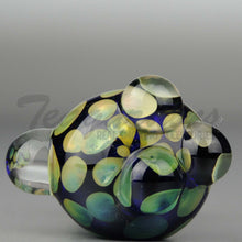 Load image into Gallery viewer, Cobalt Glass Worked Spoon Hand Pipe