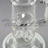 D.I. Bubbler Hammerhead to Turbine Percolator and White Foot and Mouthpiece