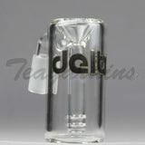 Delta 9 Glass - 14mm Clear Ash Catcher Pre Coolers
