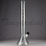 "Delta 9 Glass - 18"" Beaker Bottom Water Pipe"