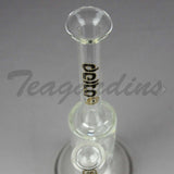 Delta 9 Glass - Stemless Bubbler With Turbine Percolator