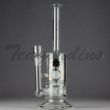 Load image into Gallery viewer, Delta 9 Glass - Stemless Inline Bubbler With 12 Arm Percolator