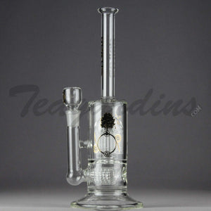Delta 9 Glass - Stemless Inline Bubbler With 12 Arm Percolator