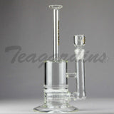 Delta 9 Glass -  Stemless Water Pipe With HD Percolator